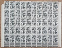 Togo - YT N°244 / Feuille De 50 Timbres - Femme Filant Le Coton - 1947 - Neufs - Togo (1914-1960)