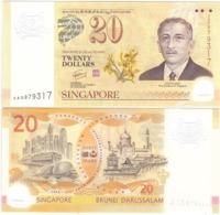 Singapore - 20 Dollars 2007 XF P. 53 Commemorative Lemberg-Zp - Singapore