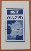 Catalogue Des Cycles Alcyon 1910, Présentant Vélos Mais Aussi Moto Et Voiture De La Marque Avec Prix - Cyclisme