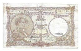 20 Fr - 04.01.43 - [ 2] 1831-... : Koninkrijk België