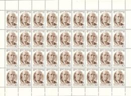 USSR Russia 1986 Sheet 100th Anniv Birth Ernst Thalmann German Communist Leader People Politician Stamps MNH Mi 5595 - Famous People