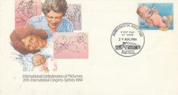 Australië 1984, Entier Postal, Verloskunde, Gelegenheidsstempel Elizabeth Farm House - Medizin