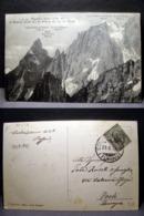 (FP.B16) AIGUILLE NOIRE ET AIGUILLE BLANCHE DE PETERET DU COL DU GEANT (VAL D'AOSTA) - Aosta