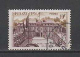 FRANCE / 1957 / Y&T N° 1126 : Palais De L'Elysée (Paris) 10F - Choisi - Cachet Rond - France
