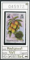Montserrat - Michel 565 - ** Mnh Neuf Postfris - Früchte Fruits - Mango - Montserrat