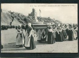 CPA - LE PORTEL - Bénédiction De La Mer - Procession Sur La Plage, Très Animé - Le Portel