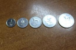Georgia Set Of 5 Coins Lari - Georgia