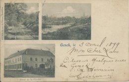 Genk/Genck,Hôtel De La Cloche 1899 - Genk