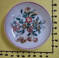 PIATTINO CERAMICA HANDGEMALT FIORI   VINTAGE - Ceramica & Terraglie