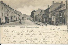 Virton,Faubourg D'Arival 1899 - Virton