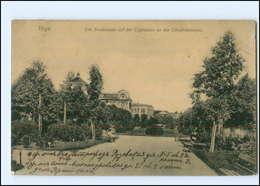 U8693/ Riga  Promenade An Der Elisabethstraße 1915 AK Lettland  - Lettonie