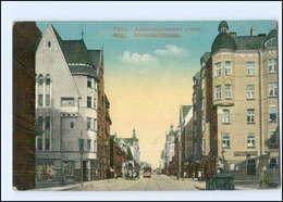 U8688/ Riga  Alexanderstraße Straßenbahn AK 1916 - Lettonie
