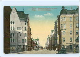 U8688/ Riga  Alexanderstraße Straßenbahn AK 1916 - Lettonia