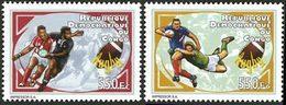 CONGO EX ZAIRE Rugby 2v 2012 Neuf ** MNH - Dem. Republik Kongo (1997 - ...)