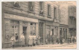 Saint Etienne - Reparation De Chaussures - Beauchaud -  A L'Echoppe Parisienne  -   RARE - Superbe -   CPA ° - Saint Etienne
