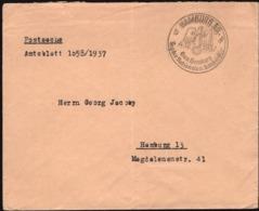 Germany - Postsache - Amtsblatt, SST. Tag Der Nationalen Solidarität HAMBURG 4.12.1937. - Allemagne