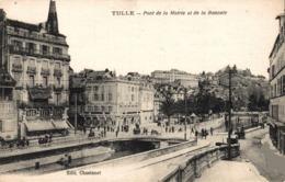 9149  -2019  TULLE    PONT DE LA MAIRIE ET DE LA BASCULE - Tulle