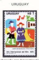 YEAR INTERN. OF CHILD - URUGUAY - Mi. Nr. 1535 - NH - (6532-33.) - Uruguay