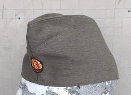 Bustina Originale Vintage NVA DDR Germania Est Marcata Tg. 55 - Headpieces, Headdresses