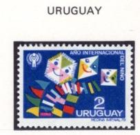 YEAR INTERN. OF CHILD - URUGUAY - Mi. Nr. 1549 - NH - (6532-33.) - Uruguay
