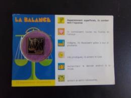 "Carte Parfumée "" La Balance "" - Astrology"