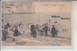 76  - YPORT- La Plage  à Marée Haute - Yport