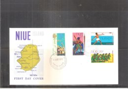 FDC Niue - 1972 - Complete Set (to See) - Niue