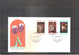 FDC Niue - 1973 - Christmas - Complete Set (to See) - Niue