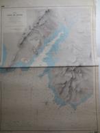 Carte Marine - Corse - Baie De Figari - Plan Levé En 1884 M.M P. Hatt - Cartes Marines
