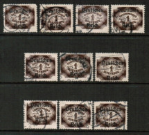 BAVARIA  Scott # O 64 USED WHOLESALE LOT OF 10 (WH-313) - Lots & Kiloware (mixtures) - Max. 999 Stamps
