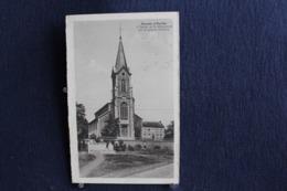 G-106 / Liège -  Hamoir S/Ourthe - L'Eglise Et Le Monument Au Sculpteur Delcour  / Circulé 1952 - Hamoir