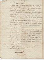 Grans Bouches Du Rhône Mariage 1830 - Manuscripts