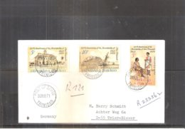 FDC From Trinidad & Tobago To Germany - 1971 - Complete Set (to See) - Trinité & Tobago (1962-...)