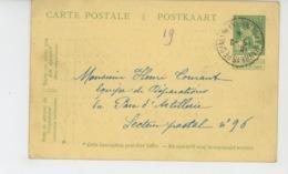 LE HAVRE -GUERRE 1914-18 - Oeuvres D'Assistance Aux Réfugiés Belges, Bureau à SAINTE ADRESSE , Collection Timbres Postes - Le Havre