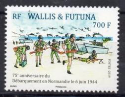 Wallis Et Futuna 2019 - 75e Ann Débarquement En Normandie Juin 1944 - 1 Val Neuf // Mnh - Neufs
