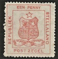 Stellaland 1884. 1d Red. SACC 1*, SG 1*. - 1882-1885 Stellaland