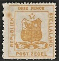 Stellaland 1884. 3d Orange. SACC 2(*), SG 2(*). - 1882-1885 Stellaland