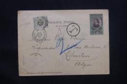 ARGENTINE - Entier Postal Pour La Belgique En 1901, Taxe Belge, à Voir - L 43145 - Interi Postali
