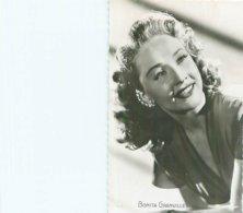 Carte Photo     -   Bonita Granville   - Actrice Et Productrice Americaine          E775 - Acteurs