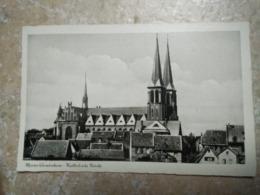 CPSM. MAINZ GONSENHEIM - KATHOLISCHE KIRCHE -  Non écrite - Mainz
