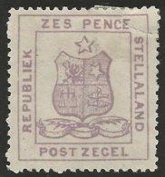 Stellaland 1884. 4d Olive-grey. SACC 4*, SG 4*. - 1882-1885 Stellaland