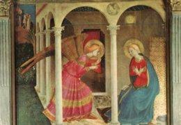CORTONA-MUSEO DIOCESANO-ANNUNCIAZIONE DEL BEATO ANGELICO-F.G - Quadri, Vetrate E Statue