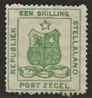 Stellaland 1884. 1s Green. SACC 5*, SG 5*. - 1882-1885 Stellaland