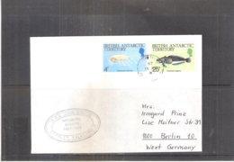 Cover From British Antartic Territory To West Germany - 1987 (to See) - Territoire Antarctique Britannique  (BAT)