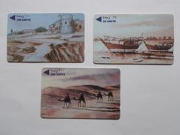 Lot 3 Télécartes BARHAIN (TC 105/106) - Baharain