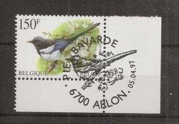 """BELG.1997 2697 MNH(with Gomme) & 1°jour/dag: """" Buzin , Ekster/Pie Bavarde  """" - 1985-.. Oiseaux (Buzin)"""