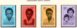 YEAR INTERN. OF CHILD - GRENADINES & ST. VINCENT - Mi. Nr. 175/178 - NH - (6532-33.) - St.Vincent E Grenadine