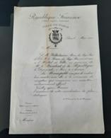1912 REPUBLIQUE FRANCAISE INVITATION REINE DES PAYS BAS CEREMONIE WILHELMINE WILHELMINA NEDERLANDEN KONINGIN QUEEN - Programmes