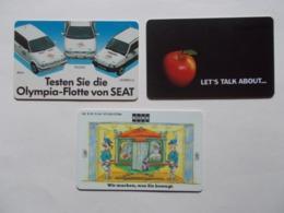 Lot 3 Télécartes ALLEMAGNE (TC 115/116) - Autres