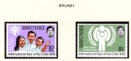 YEAR INTERN. OF CHILD - BRUNEI - Mi. Nr. 227/228 - NH - (6532-33.) - Brunei (1984-...)